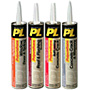 PL Adhesives & Sealants Polyurethane Sealants